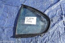 Quarto Luce Finestra Vetro Posteriore Sinistro N / S da un MG ZR 5 Porte Coupé 2003