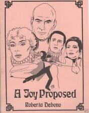 "Star Trek TNG Fanzine ""A Joy Proposed"" GEN Novel"