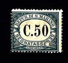 SAN MARINO - Segnatasse - 1897 - Cifra in cornice ovale - 50 c. - Timbres-Taxe