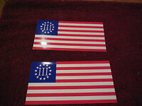 3 Percenter Nyberg Flag Sticker Die Cut Decal Self Adhesive Vinyl ( set of 2 )