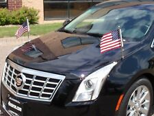 Flag Staffs Hardware 2013-2017 Cadillac XTS new HEARSE Funeral Coach Limo