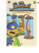 SIMPSONS  BEST SUPERHERO STORIES EVER COMIC CON MATT GROENING  BONGO COMICS