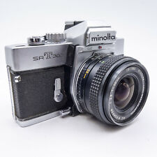 Minolta SRT 303 with MC W.Rokkor 28mm f/3.5 - Tested - 100% - Great Condition