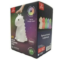 🔥 TikTok Famous Tommy Dinosaur White Multicolor Night Light Color Changing Lamp