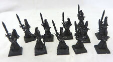 Warhammer High Elves  Sword Masters Hoeth army lot metal