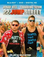 22 Jump Street (Blu-ray Disc, No DVD, 2014, 1-Disc Set)