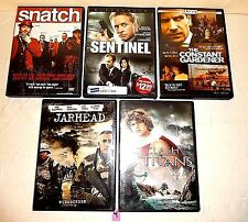 #4Lot 5 DVD Movies-Jarhead-Snatch-Clash Of The Titans-Sentinel-Constant Gardener
