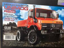 Tamiya 58609 1/10 RC Car CC01 Chassis Mercedes-Benz Unimog 425 Truck w/LED+ESC