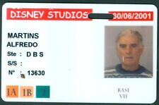 PASSEPORT  DISNEY STUDIO  PARIS  BADGE ETAT BON ETAT  N°110