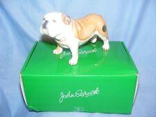 John Beswick Dog Bulldog Fawn JBD82FAW Figurine Ornament Present Gift