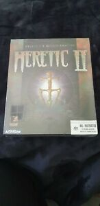 Heretic II 2 PC Big box Brand New Factory Sealed RARE Incredible condition, AUS
