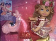 2008 The Diamond Castle Shelly doll pink sparkle pony NRFB Kelly Barbie Movie