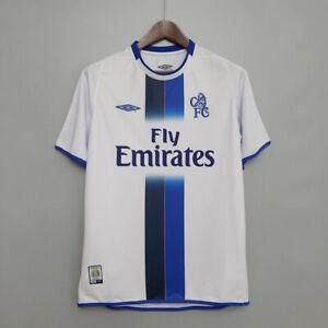 Chelsea 2003 2005 Away Retro Soccer Jersey Shirt Football