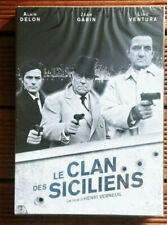 DVD Neuf S/Blister-Le Clan des Siciliens-Alain Delon-Jean Gabin-Lino ventura