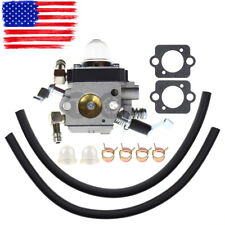 Carburetor W/ Fuel Line Gaskets For Wacker BS50-2 BS50-2i BS60-2 BS60-2i BS70-2i