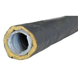 VORTICE 23629 - Gaine ISOLEE PVC Souple extensible Diam.100 mm /  L: 6 m.  VMC