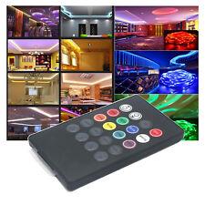 Music Infrared Radiation Controller 20 Key Remote 1.2M for LED Strip Light ST700