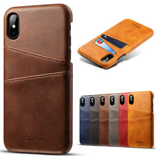 For iPhone 12 Pro Max/11 Pro/XR/X/7 8 Plus Leather Wallet Card Slot Holder Case