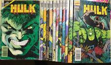 Les 12 premiers Hulk version intégrale Semic Marvel Comics