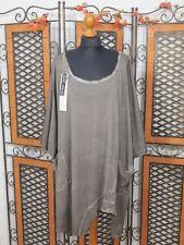 Barbara Speer leichtes ausgefallenes Oversize T-Shirt in taupe old look NEU!!!