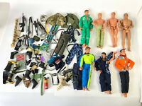 "1990s 12"" Action Man Figure Doll Weapons Accessories GI Joe M&C Formative Lot 9"