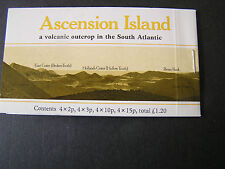 ASCENSION IS. SCOTT # 275,276,280 & 282(BLOCKS OF 4 EACH) 1981 FLOWERS ISSUE MNH