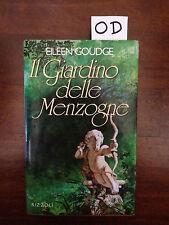 IL GIARDINO DELLE MENZOGNE - GOUDGE - RIZZOLI - 1989 - PRIMA EDIZIONE