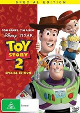 Toy Story 02 (DVD, 2010) Region 4 Disney Animated DVD Rated G Like NEW Condition