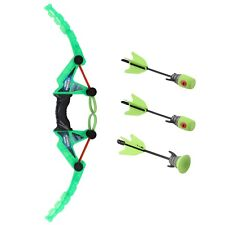 Toy Bow And Arrow Fast Load With 1 Suction Cup & 2 Whistle Arrows Archery TN-31