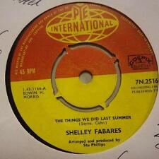 "Shelley Fabares(7"" Vinyl 1st Issue)The Things We Did Last Summer / Breaki-Ex/Ex"