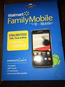 Alcatel One Touch Evolve Family Mobile by T-Mobile New Never Opened