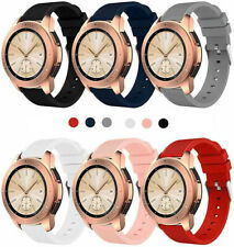 US For Samsung Galaxy Watch 42mm Silicone Fitness Replacement Wrist Band Strap