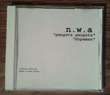 N.W.A NWA Eazy-E Ice Cube Dr Dre Yella MC Ren Limited Edition Drum&Bass Mixes CD