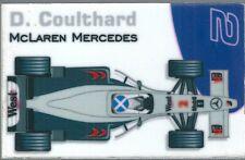 Aimant magnet Prost 1999 Formule 1 Formula 1 F1 David Coulthard McLaren Mercedes
