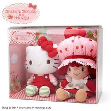 Plush Doll Set Hello Kitty Strawberry Shortcake ❤ Sanrio Japan