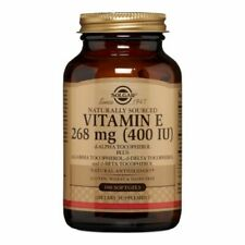 Solgar Naturally Sourced Vitamin E 400 IU 100 Softgels