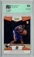 Josh Jackson 2017 Panini #21 First Look, 1/220 Made Rookie Card PGI 10