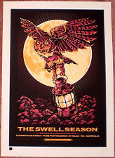 The Swell Season 2010 Melbourne Australia Signed Print Poster Once Ken Taylor