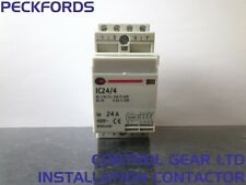 Control Gear Installation Contactor IC24/4 24A 4 Pole w/ Heat Dissipation Module