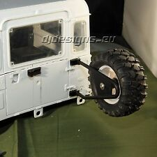 1:10th scale Landrover defender D90 D110 Rear Wheel Carrier Type 2