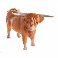 John Beswick Highland Cow Figurine JBF75 NEW in Gift Box