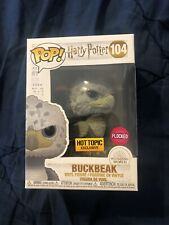 Funko Pop! Harry Potter Buckbeak Flocked HT Exclusive LE 3000 BLACK EYES In Hand