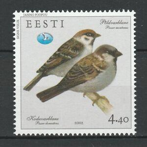 Estonia 2002 Birds MNH Stamp