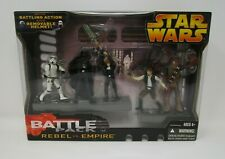 Rebel vs Empire 2005 STAR WARS Revenge of the Sith Battle Pack Packs MIB