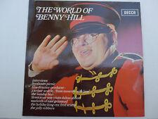 Benny Hill – The World Of Benny Hill LP, Aus, Vinyl NM