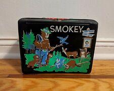 Rare Vintage 1960's King-Seeley Thermos Smokey The Bear Vinyl Lunchbox