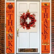 New listing Mosoan Fall Thanksgiving Porch Sign - thanksgiving sign