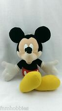 "Toys: Disney's MICKEY MOUSE Plush 14"" w/ Tush Tag and Hanging Hook"