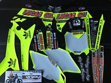 HONDA CRF450R 13-16  TROY LEE LUCAS OIL  NEON Graphic kit sticker set