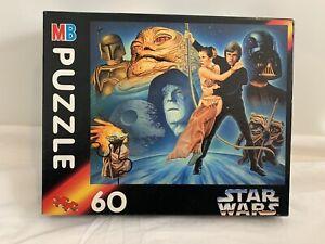 Star Wars Puzzle MB Hasbro 1994 60 Piece Jigsaw Puzzle